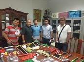 Russian guests visit and purchase products