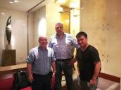 Welcome the Dutch customer visit our company