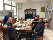 Indian Customers Visit the Company to Discuss Cooperation